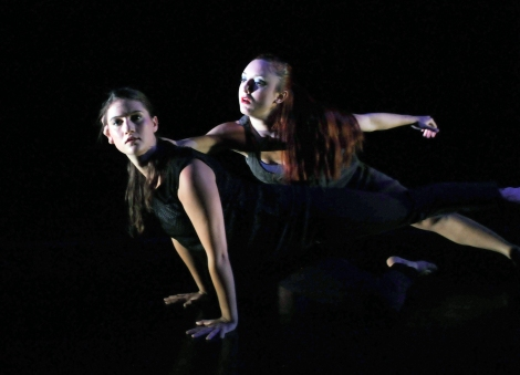 Marjorie Gross & Kirsten Schranze (Photo by John Long, courtesy of Full Force Dance Theatre)