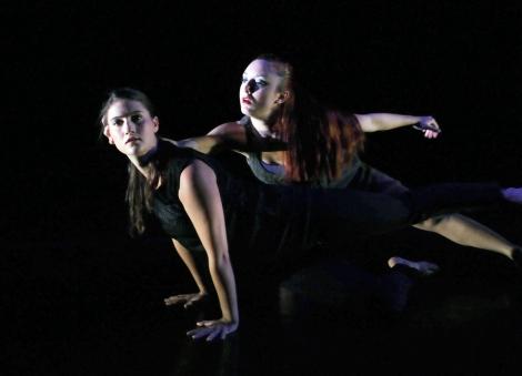 Marjorie Gross & Kirsten Schranze (Photo by John Long, courtesy of Full Force Dance Theatre)
