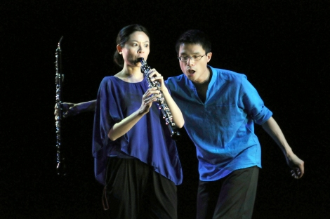 Ling-Fei Kang & Charles Huang (Photo by John Long, courtesy of Full Force Dance Theatre)
