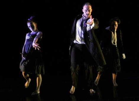 Kirsten Schranze, Christopher LaFleche, & Tiana Mancuso (Photo by John Long, courtesy of Full Force Dance Theatre)